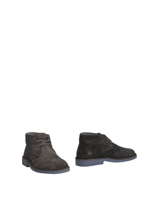 Keys - Brown Ankle Boots - Lyst