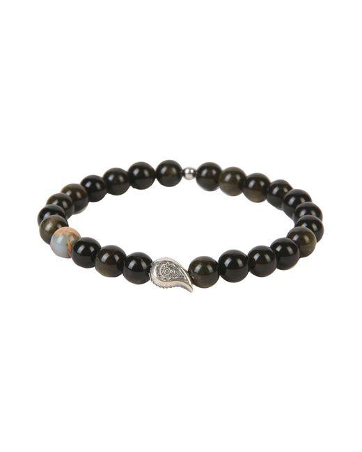 THE JAAR - Black Bracelet for Men - Lyst