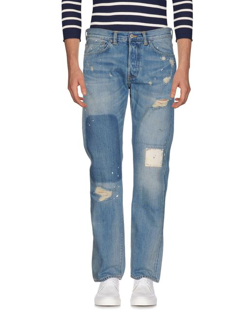 Edwin - Blue Denim Pants for Men - Lyst