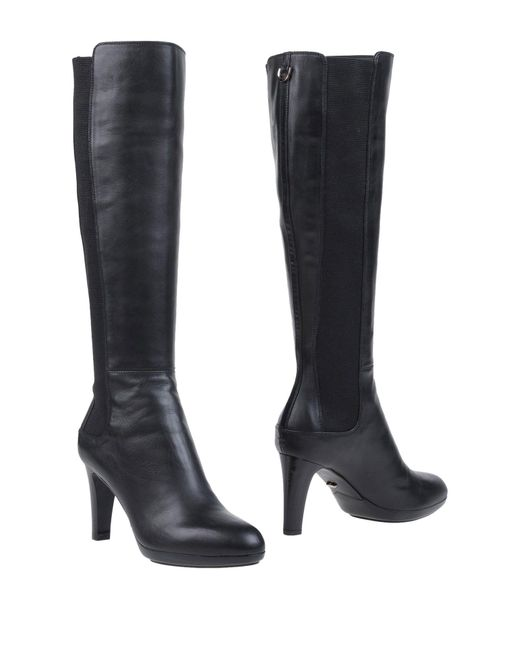 Sergio Rossi | Black Boots | Lyst