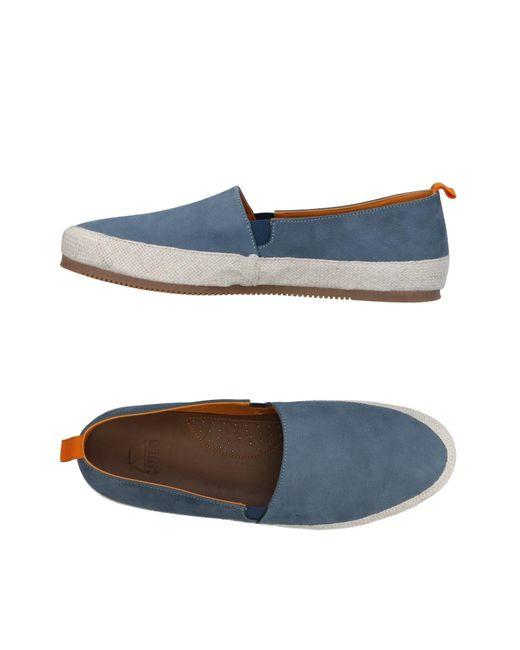 Mulo Blue Low-tops & Sneakers for men