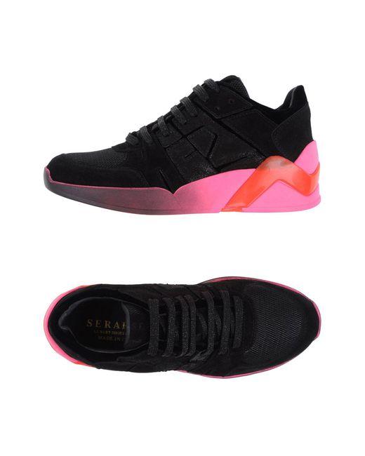 Serafini - Black Low-tops & Sneakers - Lyst