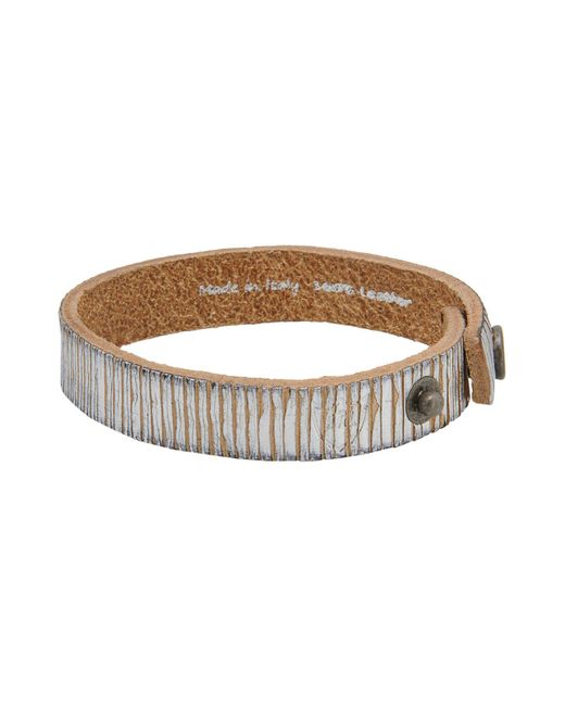 HTC - Metallic Bracelet for Men - Lyst