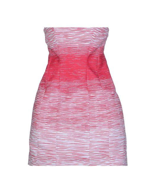 DSquared² Purple Short Dress