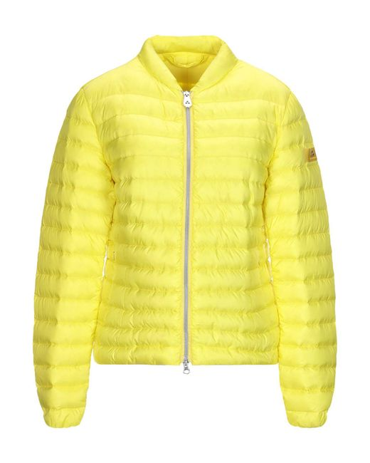 Peuterey - Yellow Synthetic Down Jacket - Lyst