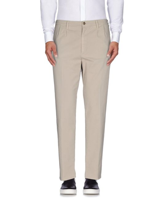 People - Gray Casual Pants for Men - Lyst