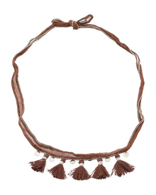 Chan Luu - Brown Necklace - Lyst