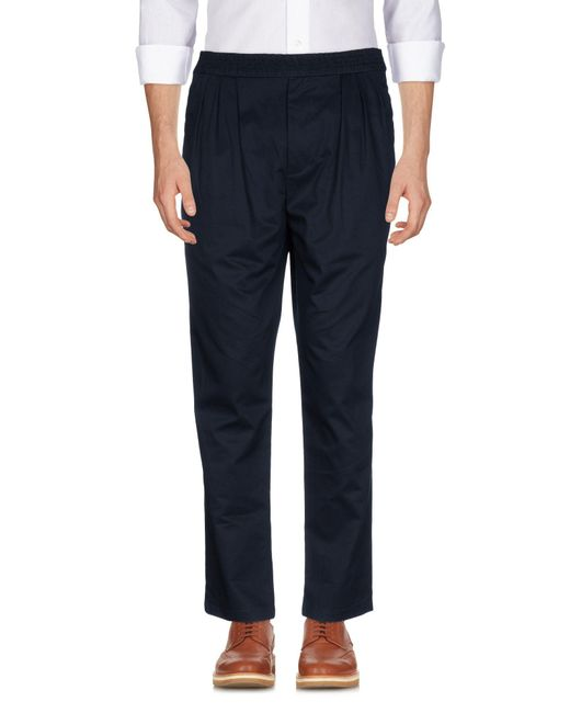 Paolo Pecora - Blue Casual Pants for Men - Lyst