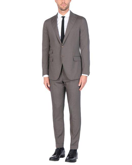 Eleventy Brown Suit for men