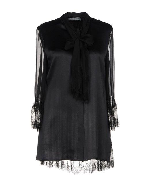 Alberta Ferretti - Black Shirt - Lyst