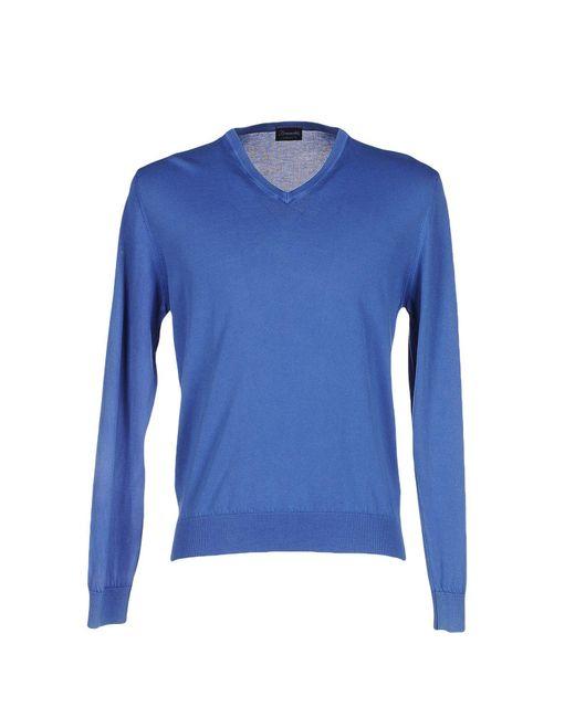 Drumohr - Blue Sweater for Men - Lyst