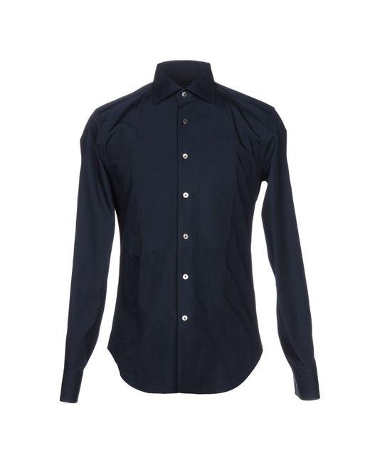 Ermanno Scervino - Blue Shirt for Men - Lyst