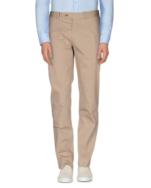 Ports 1961 - Natural Casual Trouser for Men - Lyst