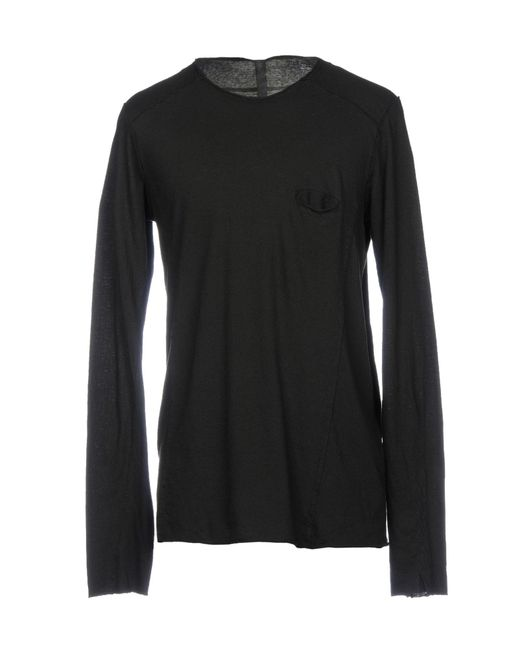 Poeme Bohemien - Black T-shirt for Men - Lyst
