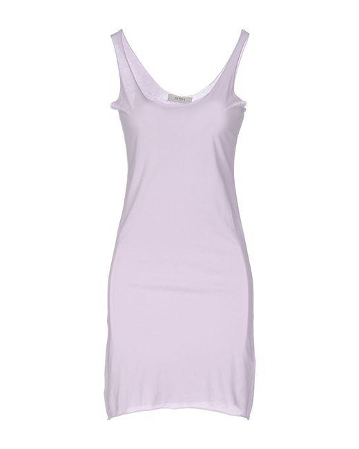 Alpha Studio - Pink Short Dress - Lyst