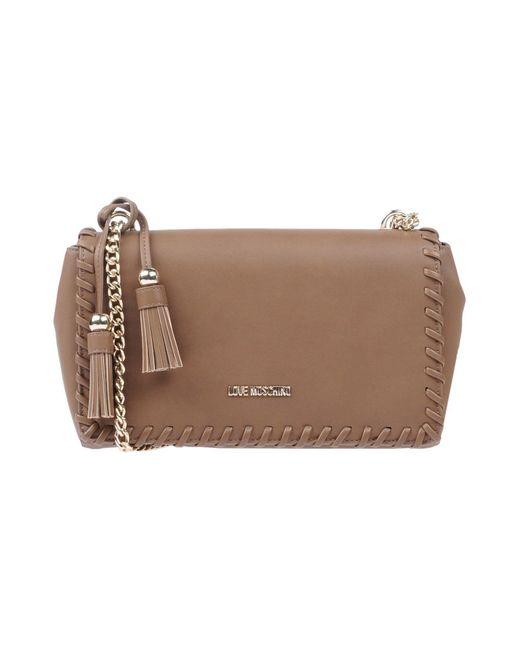 Love Moschino - Brown Cross-body Bag - Lyst