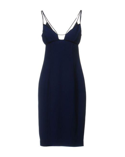 Gai Mattiolo - Blue Knee-length Dress - Lyst