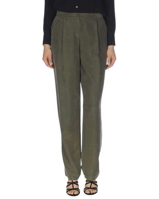 Emporio Armani - Multicolor Casual Pants - Lyst