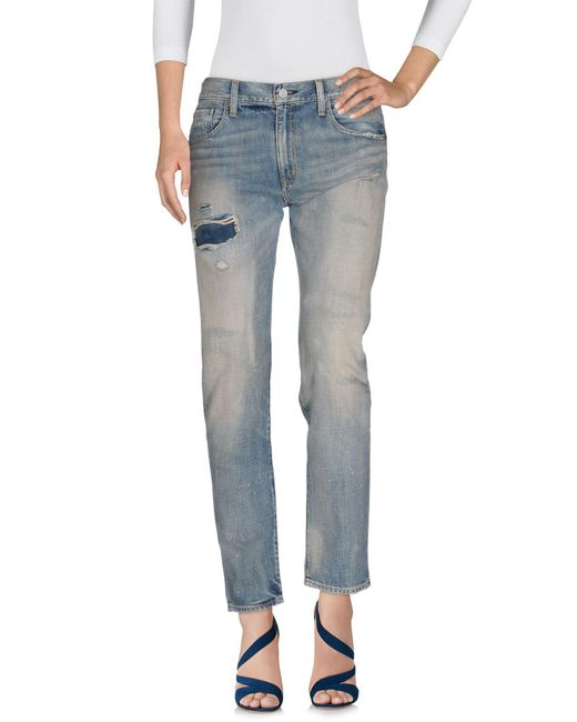 Denim & Supply Ralph Lauren - Blue Denim Pants - Lyst