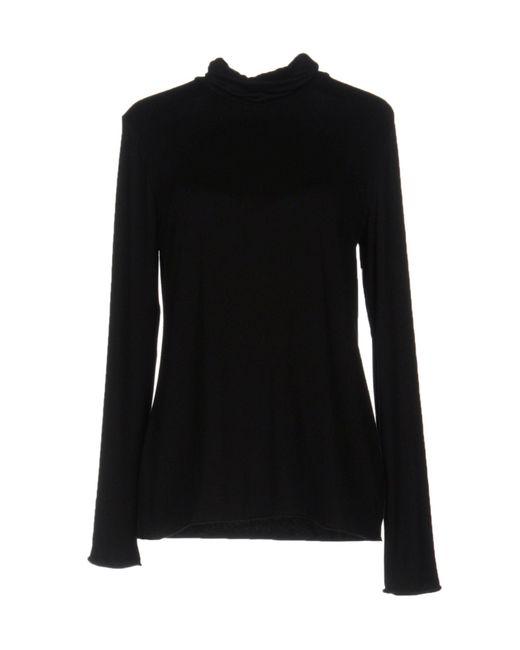Roberto Collina | Black T-shirt | Lyst