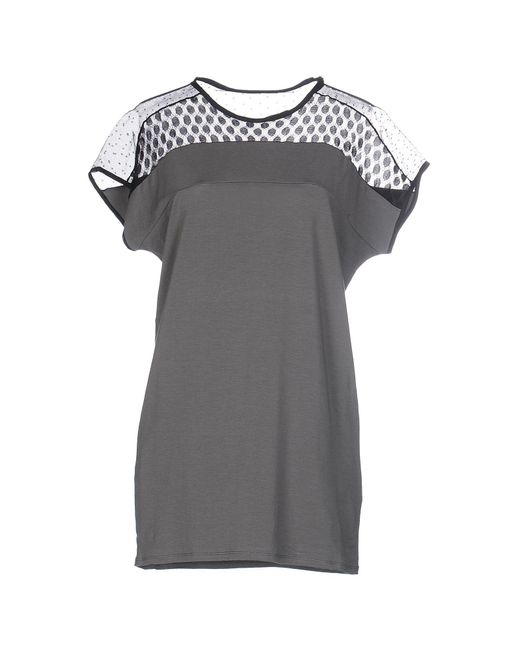 Schumacher - Gray T-shirt - Lyst