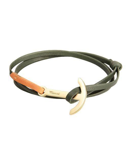 Miansai - Green Bracelets for Men - Lyst