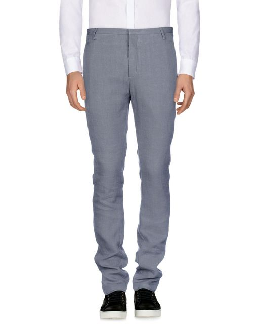 Label Under Construction - Gray Casual Trouser for Men - Lyst