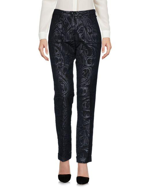 Malloni | Black Casual Pants | Lyst