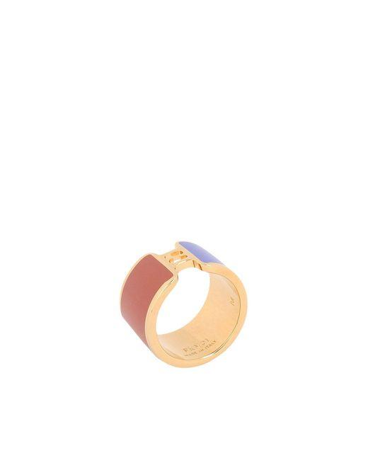 Fendi - Purple Ring - Lyst