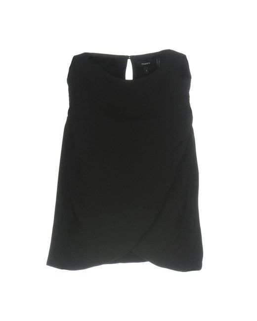 Theory - Black Top - Lyst