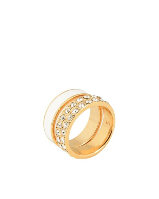 Ca&Lou - White Ring - Lyst