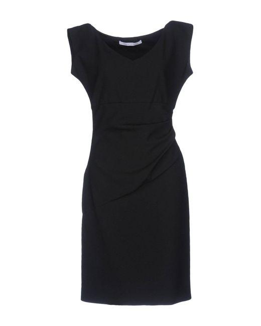 Diane von Furstenberg   Black Short Dress   Lyst