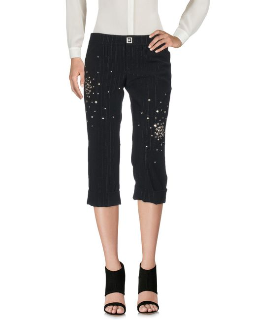 Guess - Black 3/4-length Trousers - Lyst