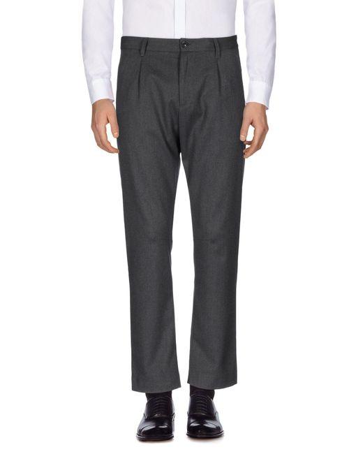 GAUDI - Gray Casual Pants for Men - Lyst