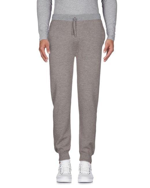 Alpha Studio - Gray Casual Trouser for Men - Lyst