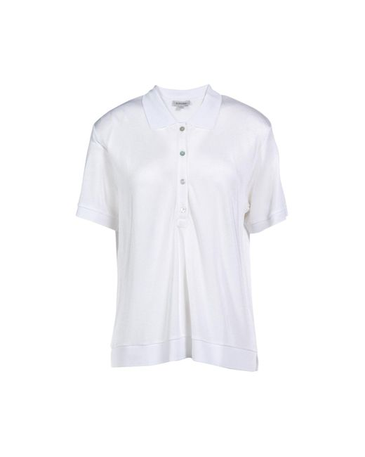 Totême  White Polo Shirt
