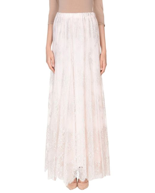 Philosophy Di Lorenzo Serafini - Pink Long Skirt - Lyst