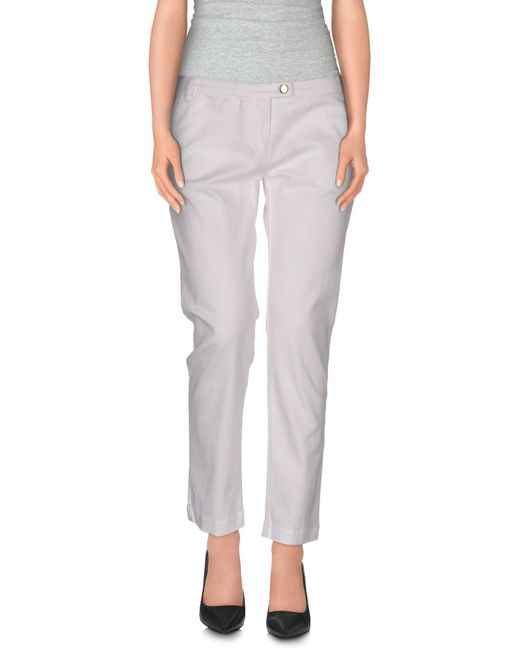 Armani Jeans | White Casual Trouser | Lyst