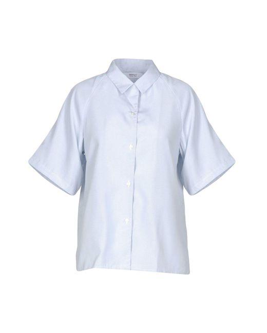 Wesc - Blue Shirt for Men - Lyst