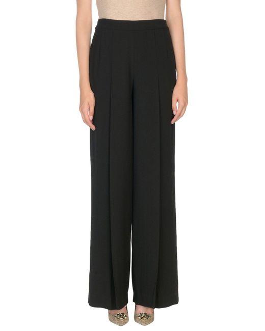 Lauren by Ralph Lauren - Black Casual Trouser - Lyst