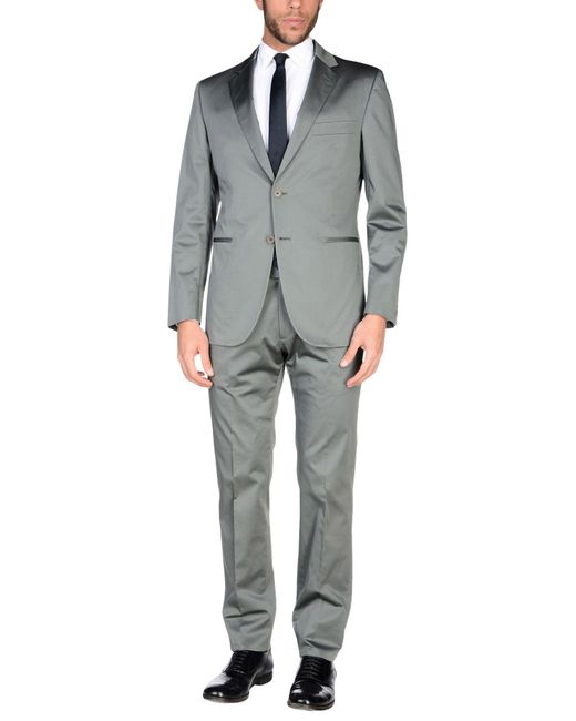 Burberry | Gray Suit for Men | Lyst