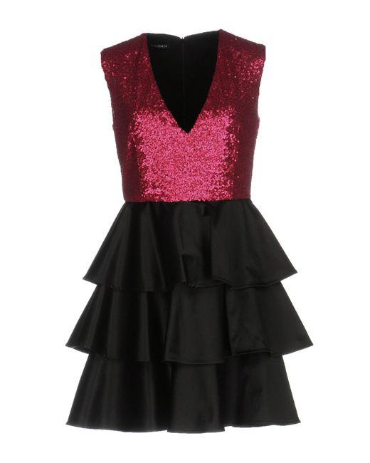 Annarita N. Black Short Dress