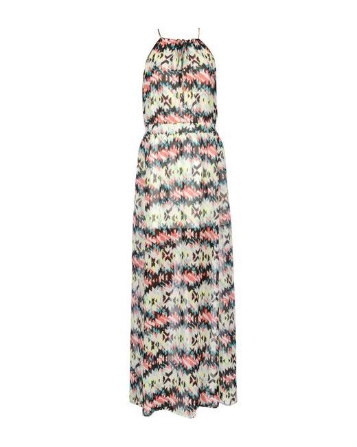 Pepe Jeans - White Long Dress - Lyst