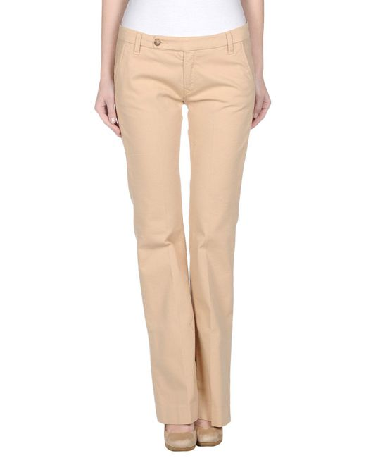 TRUE NYC | Natural Casual Pants | Lyst
