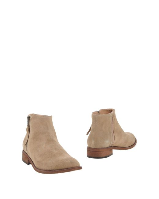 Piumi - Gray Ankle Boots - Lyst