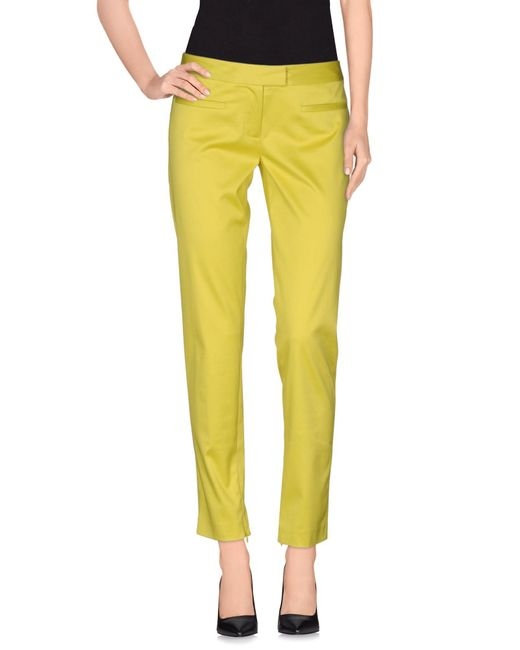 INTROPIA - Green Casual Trouser - Lyst