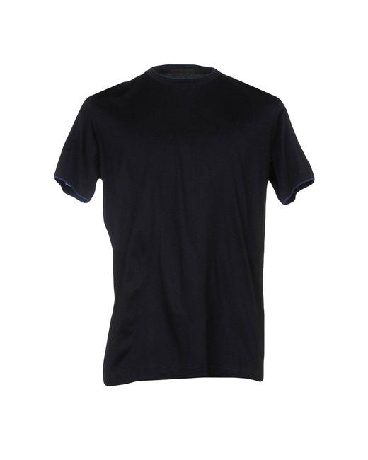 Alessandro Dell'acqua - Blue T-shirt for Men - Lyst