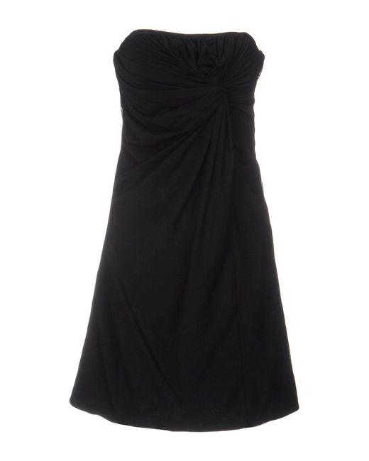 Bdba - Black Short Dress - Lyst