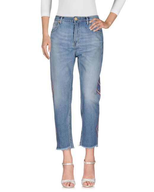 Don't Cry - Blue Jeanshose - Lyst