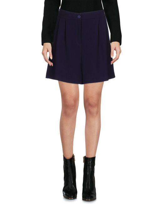 P.A.R.O.S.H. - Purple Mini Skirt - Lyst